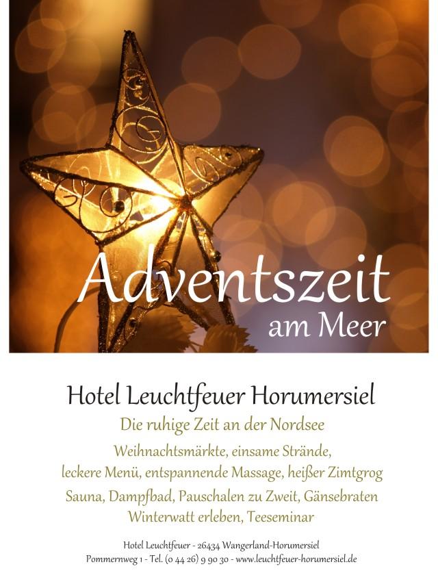 adventszeit im hotel leuchtfeuer horumersiel hotel. Black Bedroom Furniture Sets. Home Design Ideas